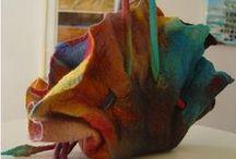 Сумки ручной работы / Handwork bags / Сумки ручной работы летние, повседневные, валяные, в стиле бохо
