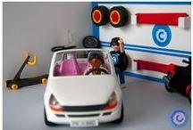 Diorama Taller 01 / Llega una nueva cliente al garaje.
