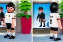 Futbolistas personalizados / Algunas de nuestras personalizaciones de futbolistas.