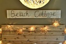 Coastal Decor / Decorating ideas to make your home feel like you are steps away from the beach! Get even more ideas in person when you stay with Bella Beach. www.bellabeach.com http://www.bellabeach.com/local-area-guide.asp