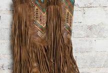 hippie/boho boots