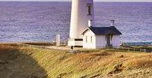 Oregon Lighthouses / Bella Beach is only 15 minutes away from one of the most scenic lighthouses on the west coast, Yaquina Lighthouse! Stay at one of our beautiful homes and take a day trip to Yaquina Lighthouse! OregonCoastCottageRentals.com or call 1-866-994-7026