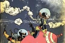 comics & cartoons / by Dawn G