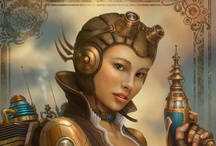 Steampunk and Gaslamp / Steampunk, Gaslamp and Victorian fantasy. / by Lady Smoke