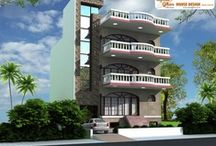 Triplex House Design / by ApnaGhar
