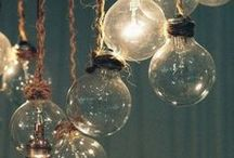 LIGHTS LAMPES LUMIERES / by Pampilles