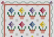 "Punto de cruz 3/ Cross stitching 3 / by Maria Blanca Morales ""Ayamontinomaria"""
