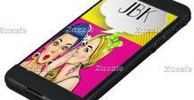 Cell Phone and Tech Cases, Tech Gifts / Check out my popular collection on Zazzle (and tell your friends). Thank You from the heart, Sharon Rhea Ford, NBPTS-Art. Please copy and paste: www.zazzle.com/sharonrhea*