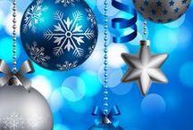# Christmas - Blue