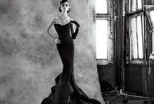 "Elegant Dresses / ""Look for the woman in the dress. If there is no woman, there is no dress."" Coco Chanel"
