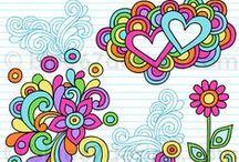 Doodles * Zentangle * Paisley