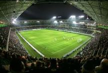 Football stadiums / For the Americans i mean Soccer