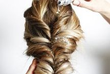 VILA | hairstyling / A look is not complete until the hair is done. Inspiration for hair styles.