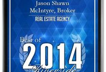 """JSM Broker Awards / Jason Shawn McIntyre, a Broker has been selected as the winner of the 2014 """"""""Best of Business"""" Award for Real Estate Agency in Riverside. #Bestofbusiness #2014 #realestate #award #winner #agent #broker"""