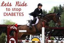 Together We Conquer Obstacles / Diabetes is like show jumping. It puts many obstacles in front of a patient on daily basis, but with proper management, support and education those hurdles may be conquered without a fault.