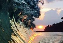 Waves / Waves of water, powerful entities in nature...