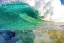 Sea Glass / Sea Glass, hauntingly beautiful, crafted by nature.