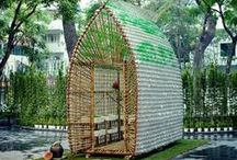Beyond Tiny Houses / alternative homes, off grid, cabins, cobb homes