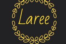 Laree (custom) ethnic stuff / Tas kulit, kain dan baju batik (custom) & headband