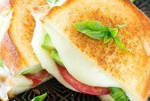 Vegetarian Grilled Sandwich