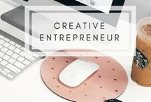 Creative Entrepreneur Tips / Learn how to start a creative business, work your passion project on the side, build a creative career you love, and stay motivated to keep going when things get tough. Inspiration, tips, tools and authentic advice for creatives and ambitious dreamers. Creative entrepreneur ideas, creative business tips, creative careers, creative life, creative lifestyle, tips for being creative, balancing a side hustle, passion project ideas, how to start a business, self employment tips, be your own boss.