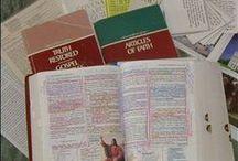 Scripture Study Tools / Great ways to mark your scriptures.