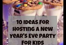 New Year's with Kids / Do you want to celebrate the New Year with your kids but aren't sure how to keep it kid-friendly? Check out this board for ideas for crafts, party games, and more! #ymcaoc