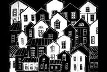 Houses by Hammi´s Design / http://hmnikunen.blogspot.fi/