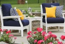 Outdoor Furniture / Whether you want furniture for your pool area or your porch or deck, these outdoor furniture pieces will add beauty and comfort to your outdoor living space. We have a large selection of outdoor dining tables and chairs, outdoor swings, outdoor rocking chairs, picnic tables, and even gazebos and bridges.