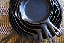 ~FOOD cast iron~ / Fun food in CAST IRON! / by Rubies & Violets