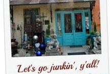 Junkin' and Exploring / Places to explore - antiques shops, junk/vintage shops ,abandoned home sites, graveyards, flea markets, etc / by Gayle Roussel