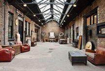 |Industrial Decor | / . Industrial interior design .