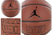 BASKETBALLS / A fine selection of basketballs for indoor and outdoor use by Spalding, Nike, Jordan and K1X.
