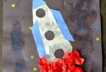 thema de ruimtevaart