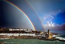 The many faces of Porthleven / From raging storms to sunshine and shadows. Beautiful photographs of the beautiful harbour where we're based.