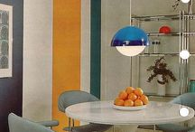 | 1970' Decor | / . colors - green - orange - turquoise .