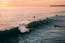 Surfin' Through the Waves / ↠☼♡Beach times♡☼↞
