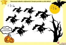 Materiale didactice de Halloween
