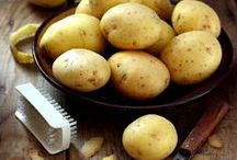 Potato Head / My favourite vegetable ... they're versatile, economical, and can be enjoyed in so many ways. Hot or cold, I love them boiled, baked, mashed, fried, roasted, and even raw!  / by Christina Lorimer
