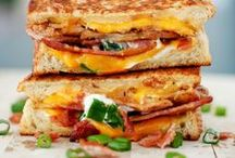 April: National Grilled Cheese Month / Put a unique twist on this classic American sandwich by using these recipes!
