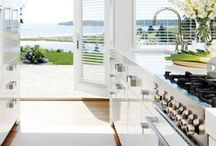 Favorite Beach Homes / Who doesn't love the beach? All of our favorite features and designs of beach homes.