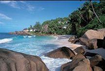 BAYAN TREE HOTEL- SEYCHELLES / Il Banyan Tree Seychelles si trova sulla costa sud-ovest dell'isola di Mahé ad Anse Intendance, su una delle più belle spiagge dell'isola.