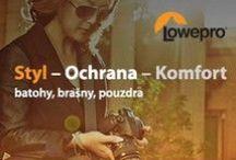 Lowepro / Lowepro již více než 35 let předním světovým výrobcem fotobrašen, batohů, pouzder a fotopříslušenství.