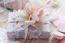 wrap it up / packaging .. wrappings .. gift giving
