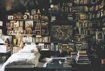 book shoppe & library / A room without books is like a body without a soul.  >> Marcus Tullius Cicero