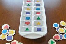 2 ans - Montessori / Reggio / Activités Montessori / Reggio pour les tout petits Jeux d'éveils pour les enfants