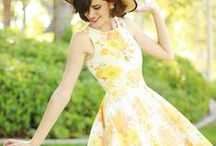 sun . dress / it is always better to be slightly underdressed    ~Coco Chanel