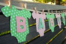 Baby Shower and Gender Reveal / Treats, games and gifts galore!