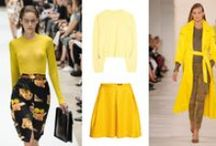 ♥ Color trend: yellow for Spring/Summer 2015  ♥