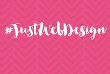 #JustWebDesign / Website Design (UX & UI)